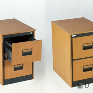 2-Drawer-Wooden-Filing-Cabinet..Harare-Zimbabwe