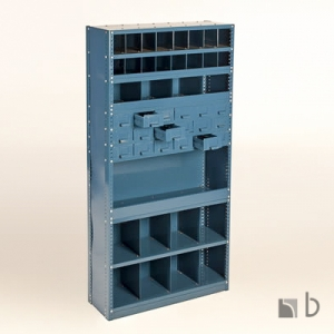 Angle Post Shelving with Dividers 2-trays Harare Zimbabwe