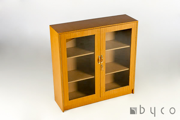 Wooden Bookcase 3-tier Lockable Harare Zimbabwe