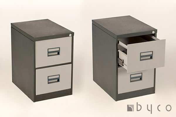 2-drawer metal filing cabinet | byco - harare office furniture 2 drawer metal file cabinet